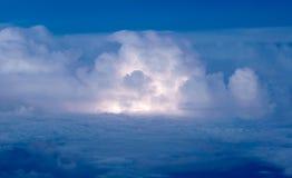 Grzmot i rozjaśniać burza obrazy stock