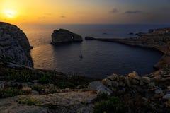 Grzyb skała w Dwerja zatoce zdjęcia royalty free