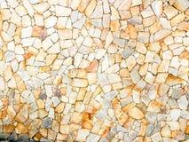 Grzywnów kamieni łaty na budynek ścianie deseniują teksturę Obraz Royalty Free