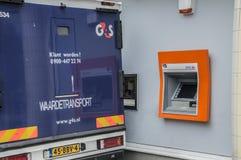 4GS Money Transport范At阿姆斯特丹东部荷兰2018年 免版税库存照片