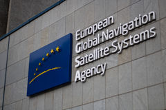 Global Navigation Satellite Systems Agency, GSA Headquarters in Prague, Czech Republic Royalty Free Stock Photography