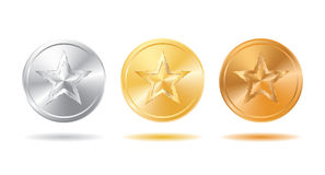 GSB star medal Stock Images