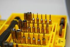 Gsm набор инструментов компьютеров стоковая фотография rf