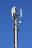 GSM antenna. Against blue sky Royalty Free Stock Photo