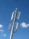 GSM Antenna. Against blue sky Royalty Free Stock Photos
