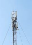 GSM Antenna against blue sky Stock Image