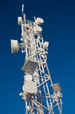 GSM antenna frozen Royalty Free Stock Images