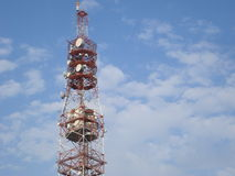 GSM antenna tower Royalty Free Stock Photos