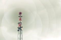 Gsm Antenna Transmitter Royalty Free Stock Photos