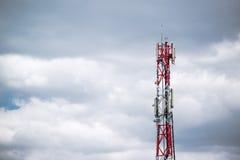 GSM anteny wierza Obrazy Stock