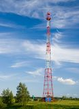 GSM cell transmission station Stock Photos