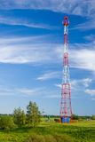 GSM cell transmission station Royalty Free Stock Photos