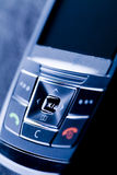 Gsm details. Mobile phone or cellphone - gsm, global connection and telecommunication Stock Images