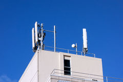 GSM Mobile Phone Towers Royalty Free Stock Images