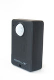 Gsm pir motion detector. On the white background Royalty Free Stock Photo