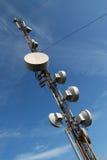 GSM toren. Stock Fotografie