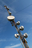 GSM tower. GSM tower on sky background Stock Photography