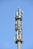 GSM tower in clear day Royalty Free Stock Photos