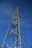 GSM tower. Steel tower with different telecommunications Stock Images