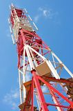 Gsm transmitter. Cellular tower. Stock Photography