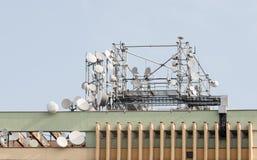 GSM Zendontvanger stock afbeelding