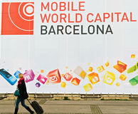 GSMA Mobile World Congress Stock Image