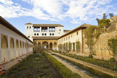 Gsrdens of Generalife royalty free stock photography