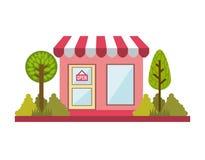 20140401 GST. Buildings design over white background, vector illustration Stock Illustration