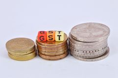 GST Royalty Free Stock Image