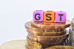 GST Royalty Free Stock Images