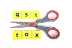 Gst-Steuern Stockfoto