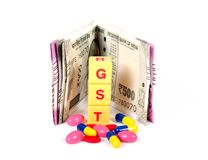 Gst tax Royalty Free Stock Images