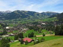 Gstaad Stock Image
