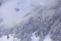 Gstaad Schweiz Royaltyfri Bild