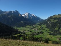 Gsteig Bei Gstaad Royalty Free Stock Photo