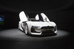 GT-by-Citroen concept car - 2009 Geneva Motor Show Royalty Free Stock Image