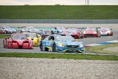 A GT classifica em raças em Assen Fotos de Stock Royalty Free