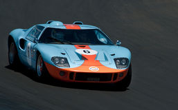 GT40 - Ford Racing Car Royalty Free Stock Photography