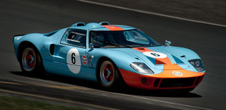GT40 - Ford Racing Car Stock Photo