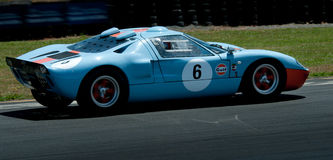 GT40 - Ford Racing Car Stock Photography
