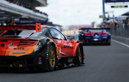 GT500 No.8 ARTA NSX-GT, AUTOBACS RACING TEAM AGURI royalty free stock photography