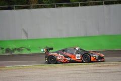 GT offenes Ferrari 458 Italien GT3 in Monza Lizenzfreie Stockfotos