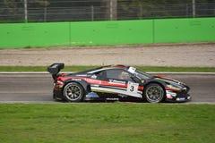 GT offenes Ferrari 458 Italien GT3 in Monza Lizenzfreie Stockbilder