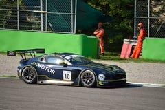 GT Open Aston Martin Vantage GT3 in Monza Stock Foto