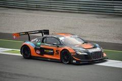 GT Open Audi R8 LMS Ultragt3 in Monza Stock Afbeeldingen