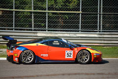 GT Open Ferrari 458 italia GT3 at Monza Royalty Free Stock Images