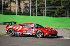 GT Open Ferrari 458 italia GT3 at Monza Stock Photo