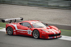 GT Open Ferrari 458 italia GT3 at Monza Royalty Free Stock Photo
