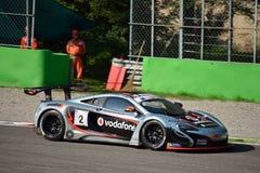 GT Open McLaren 650S GT3 at Monza Stock Photo