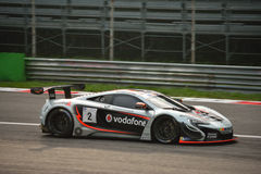 GT Open McLaren 650S GT3 at Monza Royalty Free Stock Images